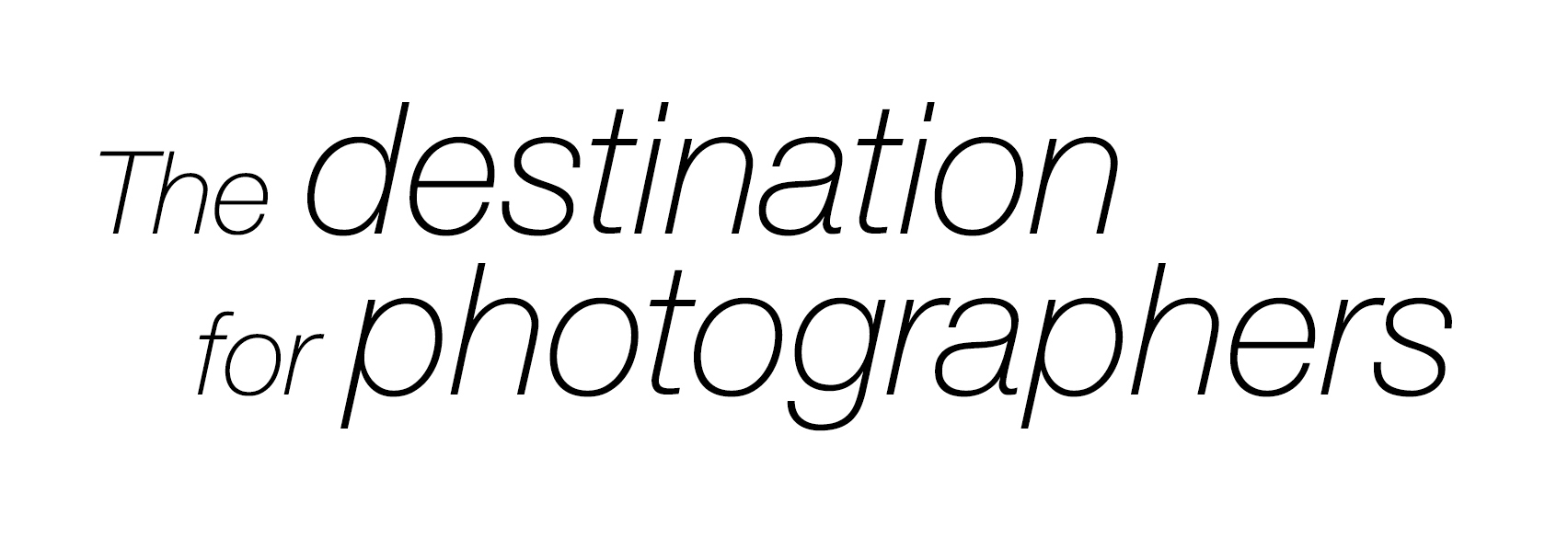 The destination for photographers
